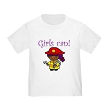 Girl Firefighter T