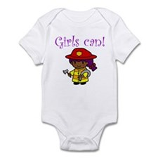 Girl Firefighter Infant Bodysuit
