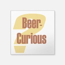 Beer - Curious? Sticker