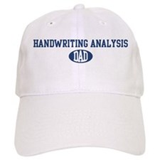 Handwriting Analysis dad Baseball Cap