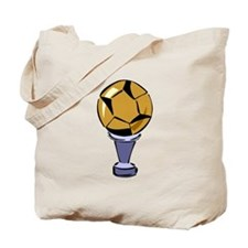 Soccer Ball Trophy Tote Bag