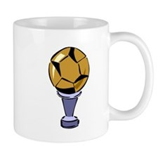 Soccer Ball Trophy Mugs