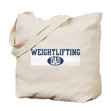 Weightlifting dad Tote Bag