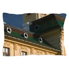 Detail of Szeged Town HallED: Szecheny Pillow Case