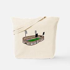 Soccer Stadium Tote Bag