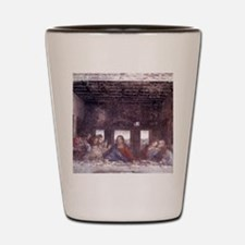 1497. Milan. Santa Maria delle Grazie.  Shot Glass
