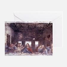 1497. Milan. Santa Maria delle Grazi Greeting Card