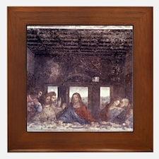 1497. Milan. Santa Maria delle Grazie. Framed Tile