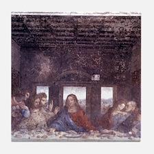1497. Milan. Santa Maria delle Grazie Tile Coaster