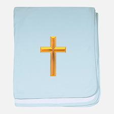 Golden Cross 2 baby blanket