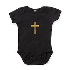 Golden Cross 2 Baby Bodysuit