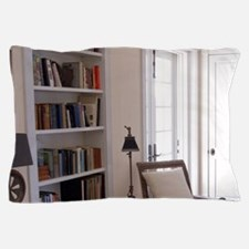 Upstairs library at Mango Hill Great H Pillow Case