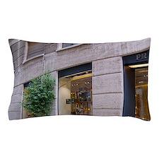 Italy, Milan, Prada storefront in Fash Pillow Case