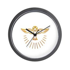 Ascent of The Holy Spirit Wall Clock
