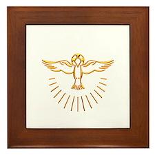 Ascent of The Holy Spirit Framed Tile