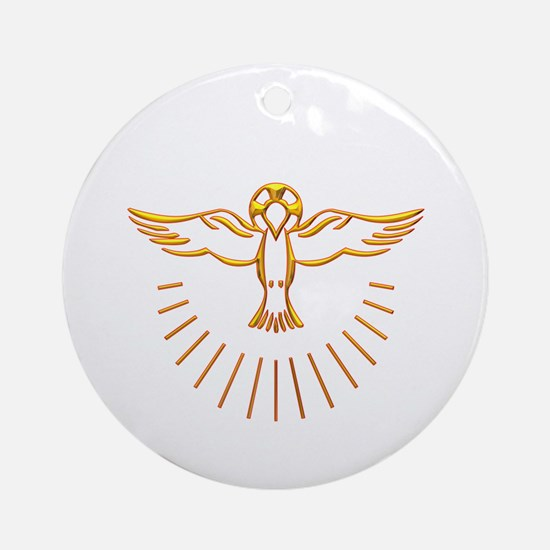 Ascent of The Holy Spirit Ornament (Round)
