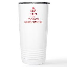 Cute Rollercoasters Travel Mug