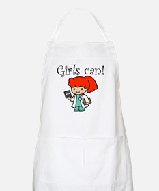 Girl Doctor BBQ Apron