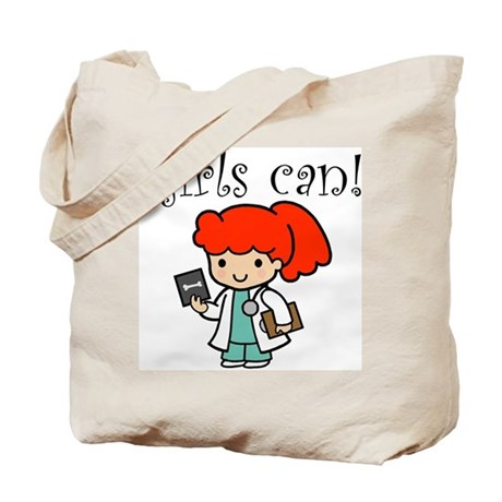 Girl Doctor Tote Bag