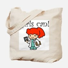 Girl Doctor Tote Bag