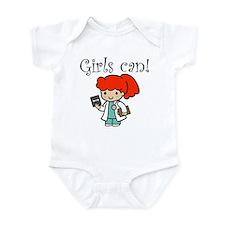 Girl Doctor Infant Bodysuit