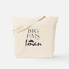 Fan of Iman Tote Bag