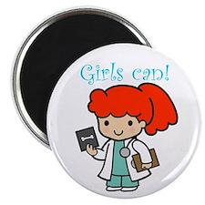 Girl Doctor Magnet