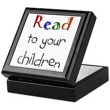 Cute Read Keepsake Box