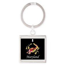 Maryland Love Keychains