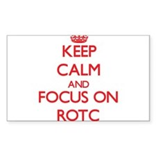 Keep Calm and focus on Rotc Bumper Stickers