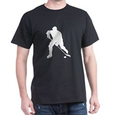 Hockey Player Silhouette T-Shirt