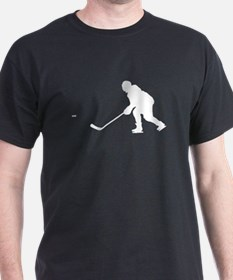 Hockey Player Silhouette T-Shirt