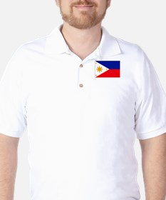 philippines flag Golf Shirt