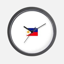 philippines flag Wall Clock