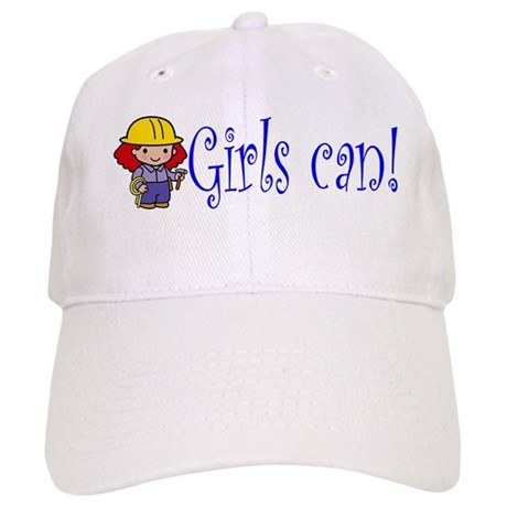 Girl Construction Worker Cap