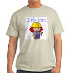 Girl Construction Worker Light T-Shirt