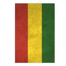 Bolivia Flag Vintage / Di Postcards (Package of 8)