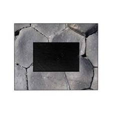 Hexagonal basalt columns, Giants Cau Picture Frame