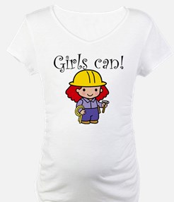 Girl Construction Worker Shirt