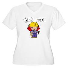 Girl Construction Worker T-Shirt