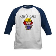 Girl Construction Worker Tee