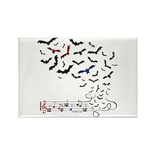 Bat Music Design Magnets