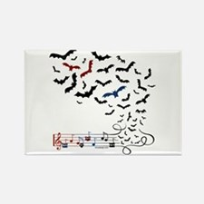 Bat Music Design Magnets