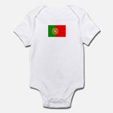 portugal flag Infant Bodysuit