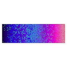Glitter Star Dust G14 (bumper) Bumper Bumper Sticker