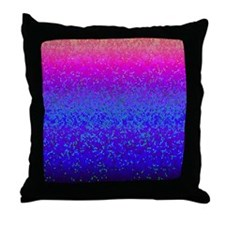 Glitter Star Dust G14 Throw Pillow