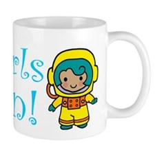 Girl Astronaut Mug