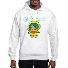 Girl Astronaut Hoodie