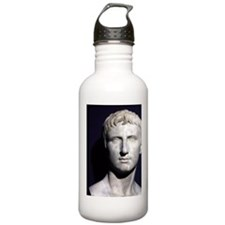 Augustus bust ITALY. Water Bottle