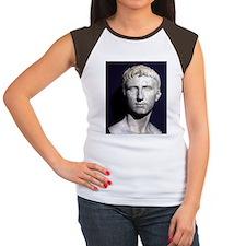 Augustus bust ITALY. Women's Cap Sleeve T-Shirt